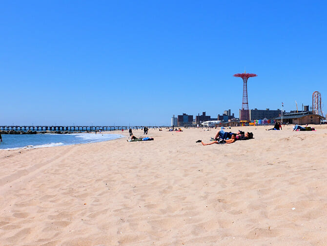 Coney Island in New York - The Beach
