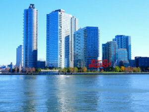 Long Island City in New York