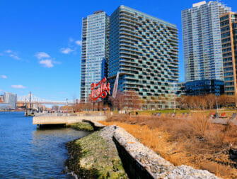 Long Island City in NYC - Gantry Park