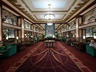 Edison Hotel in NYC - Lobby
