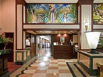 Edison Hotel in NYC - Reception