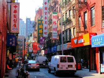 Chinatown in NYC - Typical Building