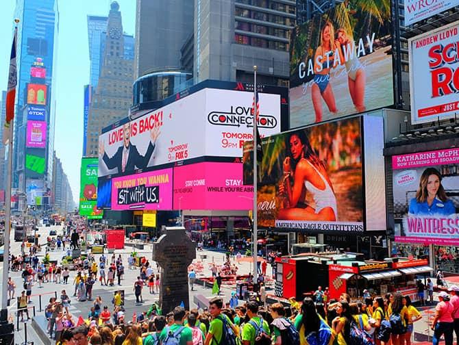 Neighbourhood Midtown Manhattan - Times Square