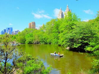 Upper East Side in NYC - Central Park