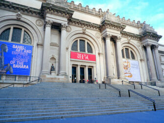 Upper East Side in NYC - Metropolitan Museum
