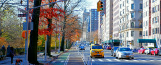 Upper West Side in New York