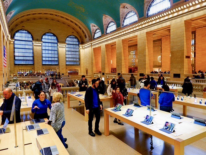 Apple Store in New York Grand Central