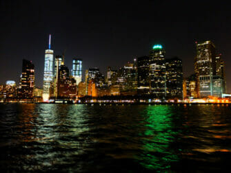 Bateaux New York Dinner Boat Tour - View