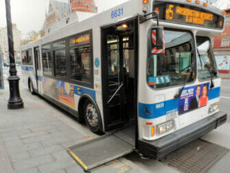 Facilities for Disabled People in NYC Bus