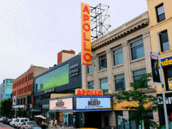 Harlem a New York - Apollo Theatre