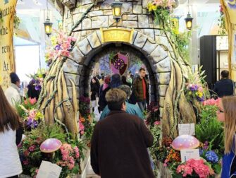 Macy's in New York Flower Show Decorations