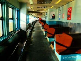 Staten Island Ferry - interior