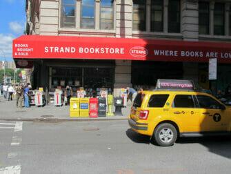 The Strand Bookstore in NYC - Book Sale