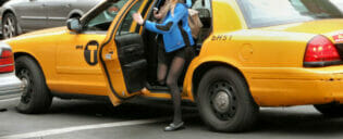 Taxi is a great way to travel in new york 300x225