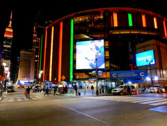 Madison Square Garden in New York - Exterior