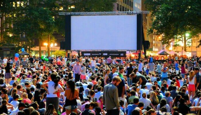 Free Films in Bryant Park Movie Night