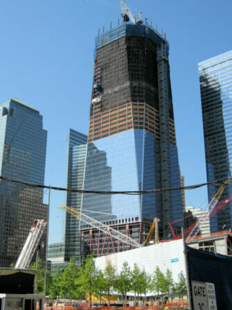 Freedom Tower in NYC Begining of Construction