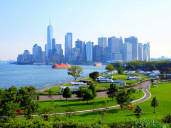 Governors Island in New York 1WTC