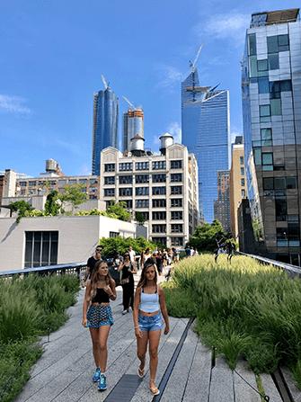 High Line Park in New York - Summer