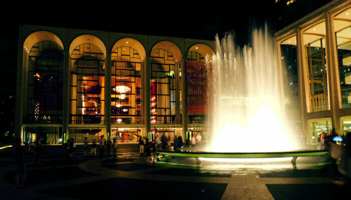 Lincoln Center for Performing Arts - at night