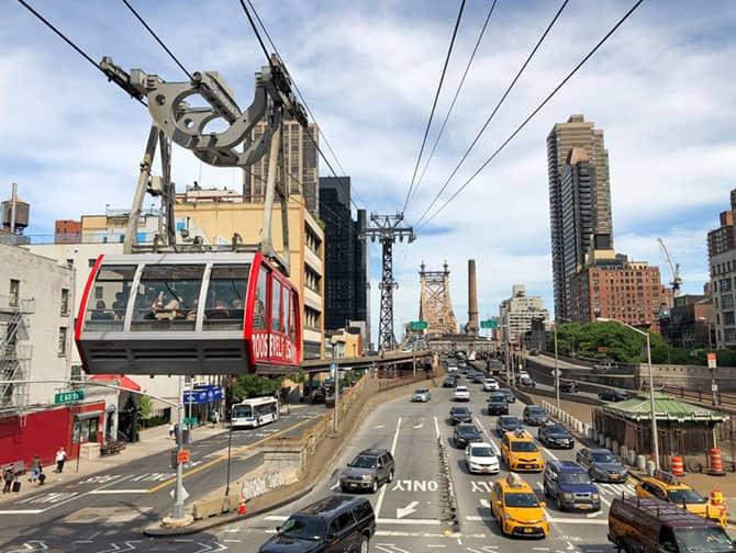 Roosevelt Island Tram New York - Cable Car