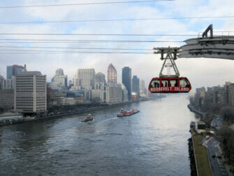 Roosevelt Island Tram in NYC - East River