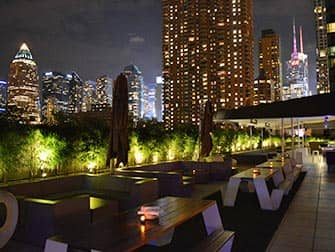Yotel Hotel in New York - Rooftop
