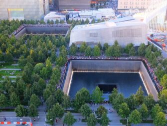 9/11 Memorial in New York - From Above