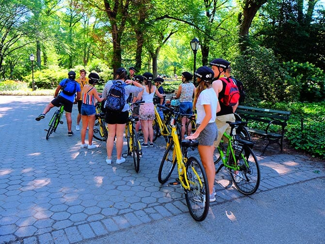 Central Park in New York Bike Tour