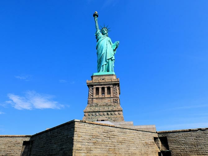 Statue of Liberty Liberty Island New York