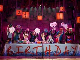 Matilda in NYC - Birthday