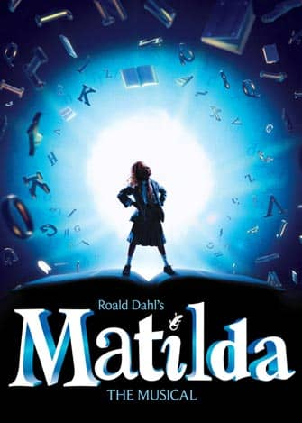 Matilda in NYC - Poster