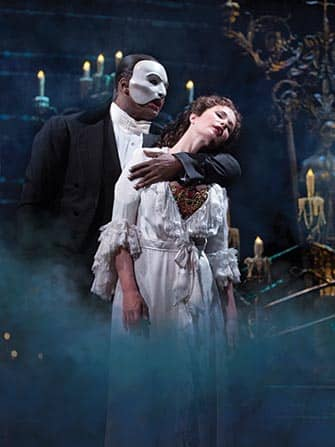 Phantom of the Opera in NYC - The Phantom and Christine