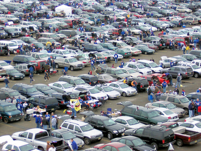 New York Giants Tickets - Parking