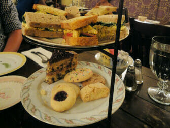 Alices Tea Cup in NYC - High Tea