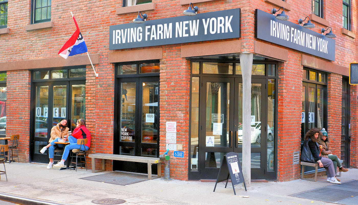 Bagels in NYC - Irving Farm