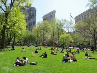 madison square park in new york
