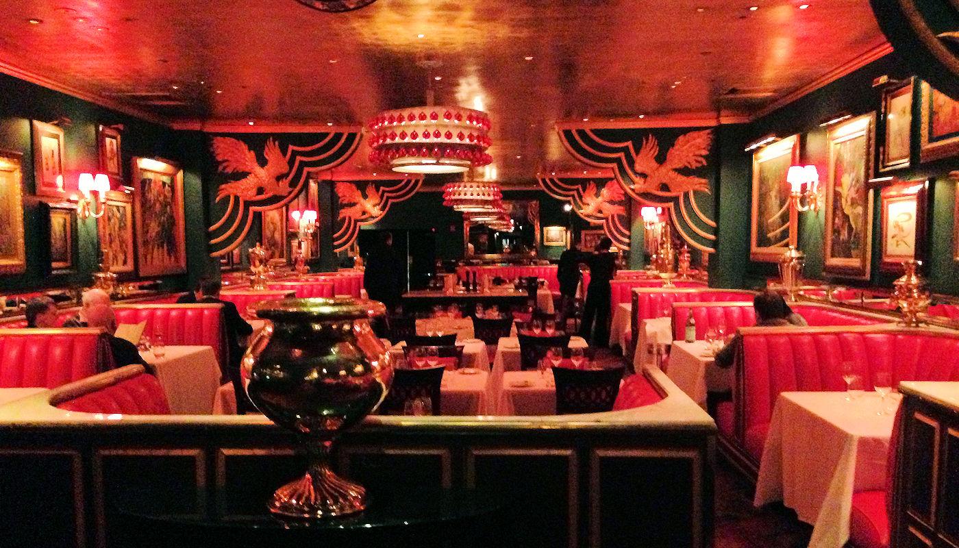 Russian Tea Room in NYC