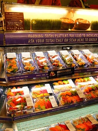 Sushi in New York -Whole Foods