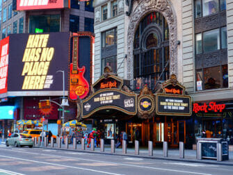 Theme Restaurant in NYC Hard Rock Cafe