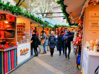 Christmas Season in New York Christmas Market