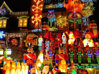 Christmas Season in New York Dyker Heights