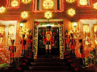 Christmas Season in New York Dyker Heights Decorations