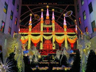 Christmas Season in New York Saks