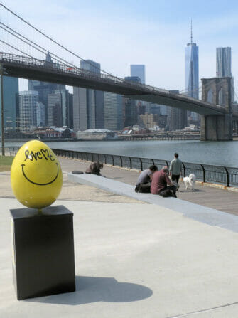 Easter in NYC - Yellow Easter Egg