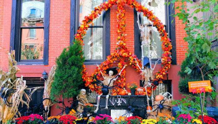 Halloween in New-York - Decorated House