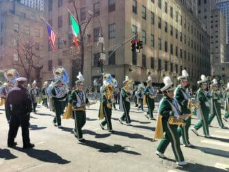 St Patricks Day in New York - Parade