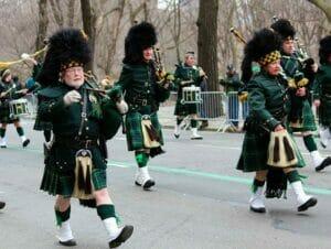 St Patrick's Day in New York