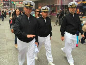 Fleet week in New York Mai