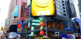 MM's Store on Times Square 1
